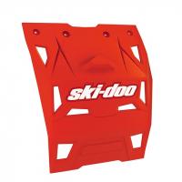 Брызговик снегохода Ski-Doo REX-XS темно-красный белый 860201038