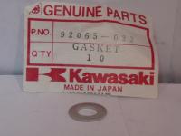 Шайба сливной пробки редуктора квадроцикла Kawasaki 92065-023