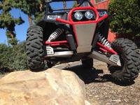 Передний бампер Vendetta MotorSports 96557 для Polaris RZR 1000 96557 оранжевый