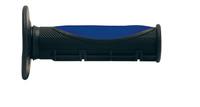 Ручки руля (грипсы) Smith (черно-синие, 22мм) для мотоцикла 98GRP06