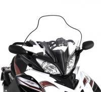 Стекло высокое оригинальное для снегохода Yamaha Apex 2011-2014г. LARGE WINDSHIELD ASS SMA-8HG96-30-BK