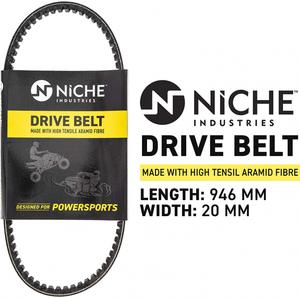 Ремень вариатора Niche для Yamaha Grizzly 125 / Breeze 125 3FA-17641-00-00 78G3640 C-DBT-0027