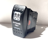 Переключатель кнопка света (Красная подсветка) A6RR-6W000-23