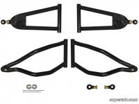 Комплект передних верхних и нижних спортивных рычагов для Polaris RZR 800S  RZR 4 AA-P-RZRS-F-HC AA-P-RZRS-C0-HC-05
