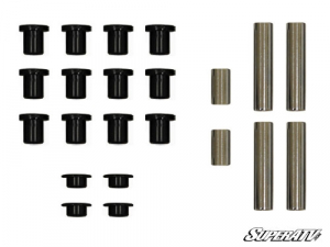 Усиленные втулки рычагов с металлическими пальцами передние Super ATV для квадроцикла Polaris RZR 900XP (AAB-P-RZRXP-D)