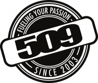"""Наклейка 509 Fuel – 8"""" [ 509-STK-FU8-10 ]"""