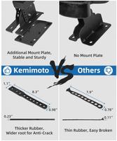 Крепление ружейное двойное Kemimoto B0111-01901