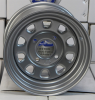 Стальной диск для квадроцикла ITP Delta Steel (12х7 4х110) D12F411