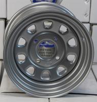 Стальной диск для квадроцикла ITP Delta Steel (12х7 4х115) D12F115
