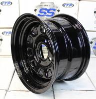 Стальной диск для квадроцикла ITP Delta Steel (12х7 4х115) D12F515