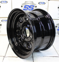 Стальной диск для квадроцикла ITP Delta Steel (12х7 4х137) D12F137