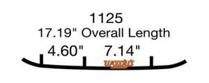 Коньки для снегохода Polaris IQ Widetrak / Indy 550 / RMK / Switchback / Widetrak LX / 2875723 / EPI3-1125 / WPI-1125 9045-03  3S - кант 16см