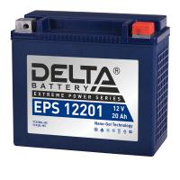 Аккумулятор для квадроцикла Delta EPS 12201 (повышенной пусковой ток) YTX20HL-BS YTX20L-BS