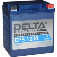 Аккумулятор Delta (повышенный пусковой ток) YTX30HL-BS YTX30L-B YTX30L EPS 1230