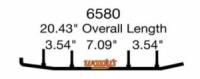 """Коньки для снегохода Woodys Extender III Executive 6"""" Carbid для Yamaha DY6-6580-1"""