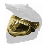 Стекло шлема 509 Delta R3 с подогревом Chrome Mirror Yellow Tint 2020
