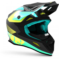 Шлем 509 Altitude Carbon Teal 2020