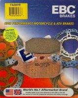 Тормозные колодки передние правые (задние) квадроцикла BRP Can-Am G1 Outlander Renegade Commander Maverick 705600398 705600350 1D9-W0046-00-00 FA307 FA307R