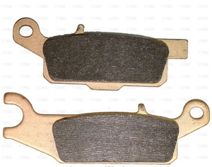 Тормозные колодки (задние правые) квадроцикла Yamaha Grizzly 700 550 3B4-W0046-10-00 FA446