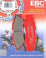 Тормозные колодки задние квадроцикла Yamaha YXZ 1000 EBC 2HC-25806-00-00 FA677TT
