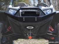 Передний бампер усиленный передний Super ATV для Polaris RZR XP 900 FBG-P-RZR-002-WB
