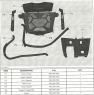 Вынос радиатора оригинальный  для Can-Am BRP Outlander G1 (500 650 800) 715001178