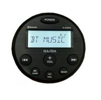Магнитола влагозащищенная Hasda с bluetooth и aux 4 x 50W H-808N