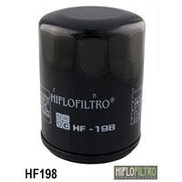 Фильтр масляный Polaris HiFLO HF198 (оригинальная замена 2540086 2540122)