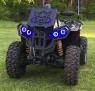 Ангельские глазки (разноцветные с bluetooth) квадроцикла BRP Can-Am Renegade G1 G2 HLS-REN-BT