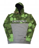 Толстовка с капюшоном FullT Horizont Зелёная