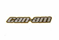 """Наклейка квадроцикла BRP Can Am """"Can-Am"""" на арку желтая 704902731"""