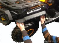 Расширители колесных арок для Can-Am (BRP) Outlander Max 500 650 800 1000 G2, 1000 X-MR G2