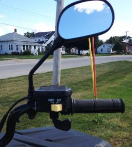 Зеркала заднего вида для квадроцикла Polaris 2877222