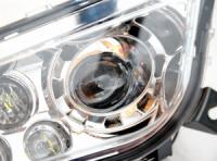 Фары головного света светодиодные (Комплект) для квадроцикла Polaris RZR 1000 2413786 2413135 2412336 2413787 lens-rzr1000