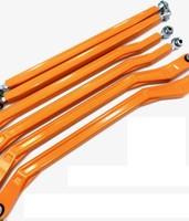 """Комплект задних поперечных тяг (6 штук) LM-UTV  для Can-Am Maverick X3 72"""" (широкая база) Orange LMU-RRR-02-02-OCPC"""