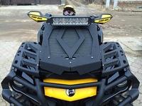 Вынос радиатора алюминиевый квадроцикла Outlander G2 1000 AL (черный), шт