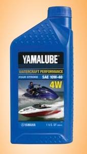 Масло минеральное Yamalube (4W) 4T 10W-40 (0.946 л) LUB-10W40-WV-12 LUB10W40WV12