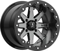 Диск колесный с бедлоком для квадроцикла BRP Can-Am MSA M21 LOK Charcoal Tint, R15x7, 4x137 M21-05737