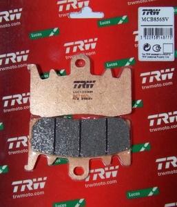 Тормозные колодки передние родстера BRP Can-Am Spyder RT RS F3 219800237 MCB856SV