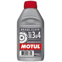 Тормозная жидкость Motul DOT 3&4  ( 0.5литра) 102718