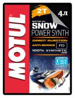 Масло моторное синтетическое для снегохода Motul SnowPower 2T 0W40 Synth 105888 108209