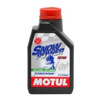 Моторное масло синтетика Motul Snowpower 2T 1л 106599 101020