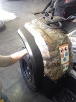 Расширители колесных арок Storm для квадроциклов Yamaha Grizzly  550 700 40.MP 0167 2007-2015