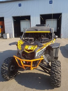 Расширители арок для квадроцикла BRP Can-Am Maverick X3 XRS (Широкие) PB33601