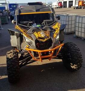 Расширители арок для квадроцикла BRP Can-Am Maverick X3 XRS (Узкие) PB35001