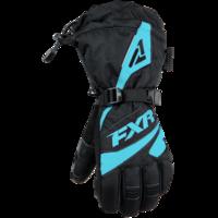 Перчатки FXR Fusion с утеплителем, взрослые, жен. (Black Mint, XS) 190820-1052-04