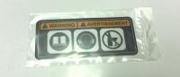 Наклейка BRP Ski Doo (предупреждения) 516005226
