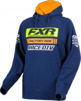 Толстовка мужская с капюшоном FXR Race Division, Navy Orange