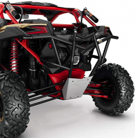 Бампер задний BRP Can-Am Maverick X3 (черный) RB-X3-BLACK 715002880 715003436