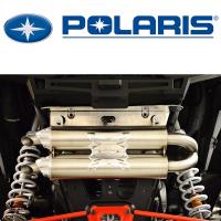 Двойной глушитель R.J.W.C для Polaris RZR 1000 RZR 1000 Turbo 1075 1143 1142